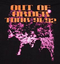 M * NOS vtg 1991 NUCLEAR ASSAULT out of order tour t shirt * 86.64 thrash metal