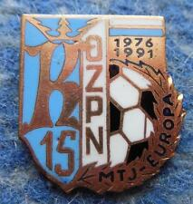 POLAND dist. KRAKOW FOOTBALL FUSSBALL FEDERATION UEFA JUNIORS 1991 PIN BADGE
