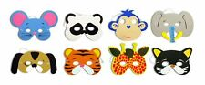 10 x Childrens Foam Animal Masks All Occasions Birthday Party Bag Filler Toys