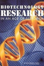 Biotechnology Research in an Age of Terrorism Committee on Research Standards a