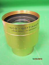 Vintage ISCO Gottigen 110mm Ultra MC 35mm/70mm Cine Projector Lens