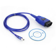 USB KKL Cable For AUDI Volkswagen OBD2 OBDII Car Diagnostic Scanner CC