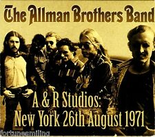 Allman Brothers A & R Studios NY 26th August 1971 CD OOP