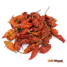 Dried Chilli Naga Bhut Jolokia Pods - Ghost Pepper Chili Highest Quality 100g