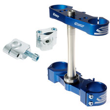 YZ450F 2010 2011 2012 2013 2014 2015 2016 TRIPLE CLAMP SET- BLUE- SCAR RACING