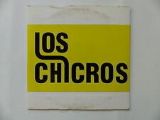 CD 6 titres LOS CHICROS Back in the wild EP PNP04