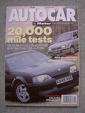 Autocar (21 April 1993) Maserati Barchetta, Lotus Carlton, Micra, Peugeot 306