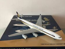 """JC Wings 200 Singapore Airlines A340-500 """"Leadership"""" 1:200 DIECAST 9V-SGA"""