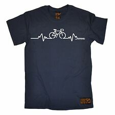 Bike Pulse T-SHIRT Tee Cycling Bicycle Riding Medic Doctor Funny Gift Christmas