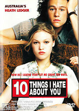 10 THINGS I HATE ABOUT YOU Heath Ledger DVD R4 New
