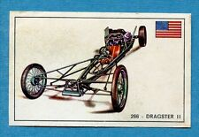 STORIA DELL'AUTOMOBILE Panini Figurina-Sticker n. 266 - DRAGSTER II -Rec
