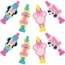 MINNIE MOUSE Fun to Be One BLOWOUTS (8) ~ 1st Birthday Party Supplies Favors