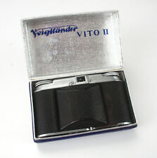 VOIGTLANDER VITO II, BOXED, BAD SHUTTER, COSMETIC ISSUES, AS-IS/cks/188622