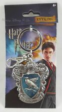 New Harry Potter Hogwarts Ravenclaw House Crest Metal Keychain Key Ring Chain