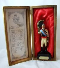 Vintage Cast Model Spanish General Castanos BOXED Circa 1960's 611g stands 19cm