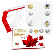 8-Coins Uncirculated Collector Set: 2017 Canada 150th Birthday WINNING DESIGNS.