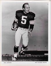 Paul Hornung 1966 New Orleans Saints Photograph (Expansion Draft rarity)