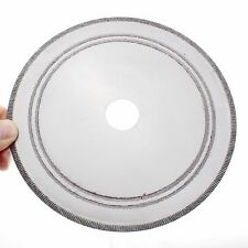 "7"" inch Lapidary Diamond Rock Slab Saw Blade Notched Rim 1.2mm Bushing 1/2"" 5/8"""