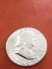 Franklin Half Dollar 1963 Very High Grade. Unc