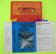 MC KOOL & THE GANG As one 1982 1 stampa italy DE-LITE DLK 79005 cd lp dvd vhs