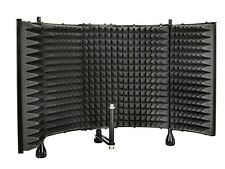 Studio Microphone Diffuser Isolation Shield Acoustic Chamber Foam Panel Mic New