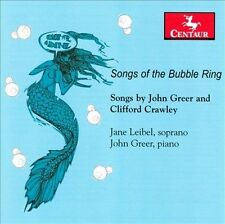 Leibel; Greer-Songs Of The Bubble Ring CD NEW