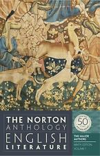 The Norton Anthology of English Literature, The Major Authors (Ninth Edition)  (