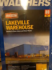 Walthers HO #933-2917 Lakeville Warehouse (Building Kit)