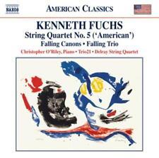 Streichquartett 5/Falling Canons - Biegel/Augustyn/deMaine - Fuchs,Kenneth * CD*