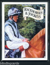 RACEHORSES & JOCKEYS 2nd series - Collectors Card Set - Eddery Piggott Dettori +
