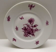Theodore Haviland Limoges France 7.5 inch Plate Purple Flowers