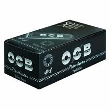 OCB Rolling Paper Black Standard No1 Box of 50