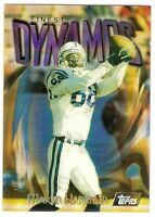 MARVIN HARRISON GOLD ATOMIC RARE REFRACTOR 1997 TOPPS FINEST 161 INDY COLTS HOF