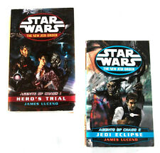 STAR WARS THE NEW JEDI ORDER Agents of Chaos Novel Book set lot of 2