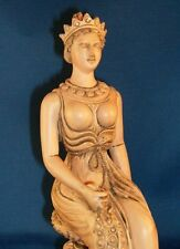 Greek Goddess Hera Queen of Heaven Roman Goddess Juno Pagan Wiccan Statue #HE
