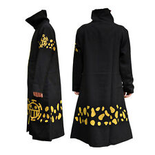 one piece Trafalgar Law pirate cosplay cloak cotton costume coat & hat HOt NEW