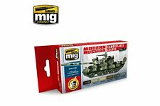 AMMO OF MIG A.MIG-7161 Acrylic Paint Set Modern Russian Camo 2 6x17ml