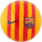NIKE FOOTBALL / SOCCER BALL - FCB SUPPORTER - RED/ORANGE - SIZE 5 - SC2699-739