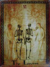 The Lovers Tarot Card Vl Metal Sign