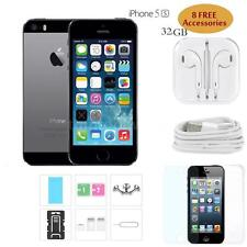 Unlocked iPhone 5S 4G Smartphone iOS 9.3 Dual Core 32GB FingerPrint Grey A0X6