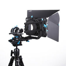 Fotga DP500IIS A/B Stop Follow Focus+15mm Rod Rail baseplate+DP3000 M3 Matte Box
