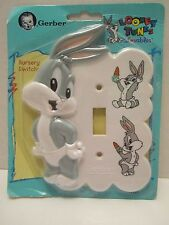 LOONEY TUNES Gerber Switch Plate Bugs Bunny Baby
