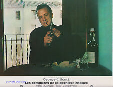 THE LAST RUN SET OF 9 FRENCH 1971 PHOTOS GEORGE C. SCOTT TRISH VAN DEVERE