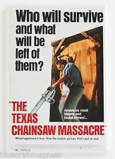 Texas Chainsaw Massacre FRIDGE MAGNET (2.5 x 3.5 inches) movie poster