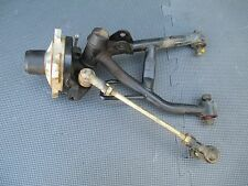 04 Can Am DS90 2stroke left A arm spindle tie rod hub knuckle brake panel DS 90