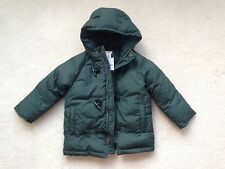 J.Crew Crewcuts Girls' Factory Hooded Parka, Academic Green, Size 4-5T
