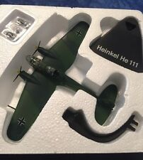 ATLAS EDITIONS - HEINKEL HE111 - MODEL AIRCRAFT - BRAND NEW IN BOX.