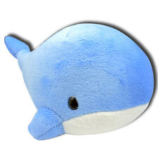 Blue Whale Soft Plush Stuffed Animals With Suction Cup Cute Toy New