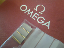 WATCH OMEGA BOX * EMPTY * + 18K & SS SPARE LINKS (for your ladies constellation)