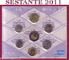 ITALY,  ITALIA , Mini Serie Divisionale Sigillata in FDC 1996  + Cartoncino